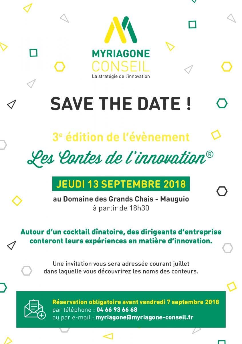 Save The Date - Contes de l'innovation 2018